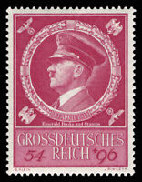 EBS Germany 1944 Hitler's 55th Birthday - Geburtstag Hitlers Michel 887 MNH**