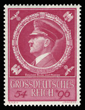 EBS Germany 1944 Hitler's 55th Birthday Geburtstag Hitlers Michel 887 MNH**
