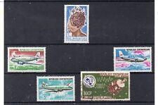 Republica Centroafricana Valores año 1965-67 (DN-492)