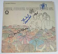 "THE MONKEES Signed Autograph ""Pisces, Aquarius, Capricorn, & Jones"" LP x4 Davy"
