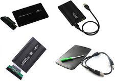 """CASE alluminio per Hardisk HDD 2.5 SATA USB 2,5"""" box contenitore esterno cover"""