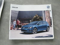 2016 16 VOLKSWAGEN VW GOLF DEALER SALES BROCHURE MANUAL BOOK CATALOG