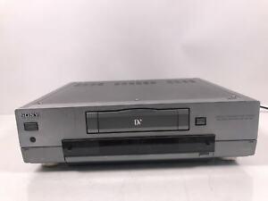 SONY DHR-1000 MiniDV DV DVCAM Digital Video Player Recorder UNTESTED