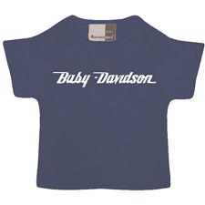 T-shirt Baby-Davidson, moto vintage, biker, bébé enfant taille 68/74  80/86 NEUF
