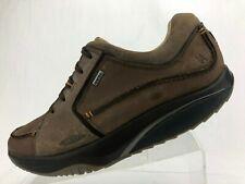 MBT Walking Shoes Fanaka Gore Tex Brown Toning Fitness Workout Rocker Mens US 11