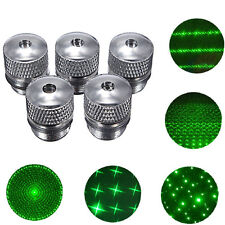Converter Light Refraction Head For Green Red Blue Laser Pointer 5 Style Pattern