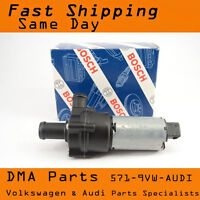 BOSCH Secondary Water Pump Electric For Porsche VW Audi VR6 R32 TT 2.7T Allroad