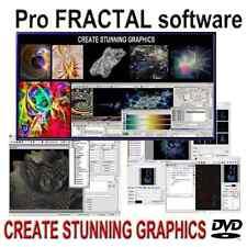 FRACTAL Design Software Create Stunning 3D / 2D Graphics DVD - Windows 10, 8, 7