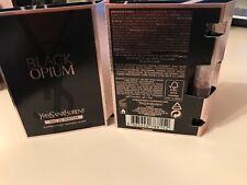 x2 YSL Black Opium EDP 1.2ml sample 100% GENUINE  Yves Saint Laurent