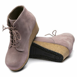 BIRKENSTOCK EDITH SUEDE LEATHER BOOTIE WOMENS PAPILLIO ANKLE BOOT SHOE NARROW