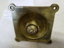 Antique Reclaimed Brass Victorian Door Pull Bell Knocker LARGE 125mm BUTLER