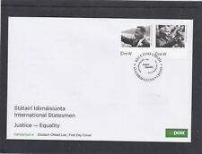 Ireland 2018 Nelson Mandela & Martin Luther King FDC Baile Atha Cliath spec h/s