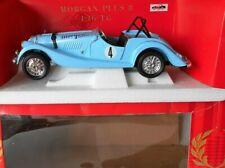Morgan Plus 8 1/16 Diecast Model Polistil Excellent Sky Blue Aero Screen Red Box