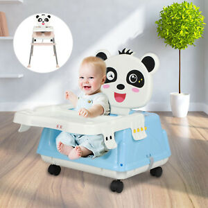 5 in 1 High Chairs Adjustable Baby Folding Feeding Seat Portable Baby Toddler