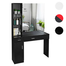 Beauty Salon Spa Equipment Hair Styling Barber Station Mirror Dressing Table