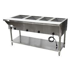 """Advance Tabco Hf-4G-Nat 62"""" Nat Gas Hot Food Table"""