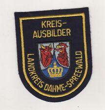 Feuerwehr Uniform Aufnäher Patches Kreisausbilder Landkreis Dahme Spreewald