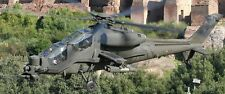 A-129 Mangusta Italy Army Agusta A129 Helicopter Wood Model Replica Large New