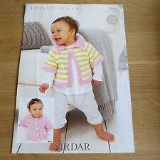 Sirdar Tiny Tots DK - Pattern No.1983 - Cardigans - Easy Knit