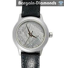 lady meteorite watch Metal Crystals Dial titanium case leather warranty ladies