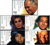 BRD (BR.Deutschland) 2143-2147 (kompl.Ausg.) postfrisch 2000 Filmschauspieler