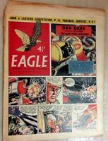 1955 Classic Eagle Comic Vol 6 No 43 Dan Dare in The Man From Nowhere - 28th Oct