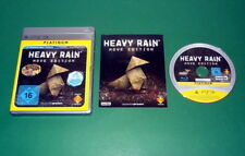 Heavy Rain mit Anl. und OVP Platinum f. Sony Playstation 3 PS3