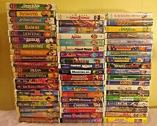 Disney Black Diamond Classics Masterpiece Collection VHS Huge Lot 58