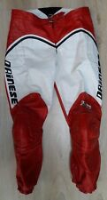 pantalon cuir moto DAINESE rouge T 50