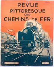 Revue Pittoresque des Chemins de Fer collection février 1936