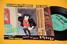 """SEX PISTOLS 7"""" 45 ( NO LP ) SOMETHING ELSE ORIG UK 1980 EX"""