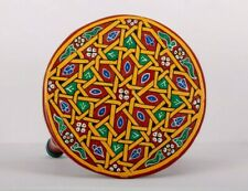 Moroccan Table Vintage Reproduction Hand painted Handmade Wood