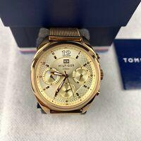 Tommy Hilfiger Women's Watch Quartz Gold Stainless Steel Strap Analogue 1781488
