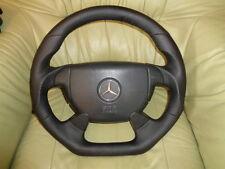 Extremadamente tuning AMG volante de cuero mercedes w208 SLK r170 sl r129 w202 w210 w124