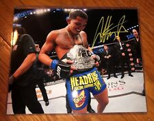 Anthony Pettis Hand Signed 8x10 Photo MMA CHAMPION