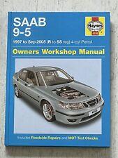Haynes Manual 4156 - SAAB 9-5, 1997 to 2005, 4-cyl petrol