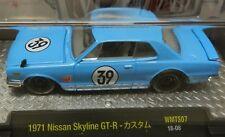 WALMART 1971 71 BLUE RALLY RACE NISSAN SKYLINE GTR GT-R GT R SPORTS CAR 18-08 M2