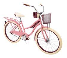 "Huffy 24"" Nel Lusso Girls' Cruiser Bike Pink"