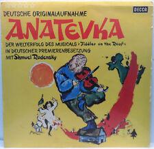 Shmuel Rodensky ?- Anatevka - Fiddler On The Roof German Version LP Jewish