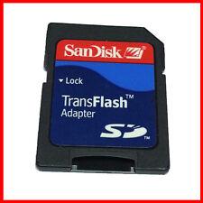 New Original SanDisk TransFlash MicroSD memory card adapter
