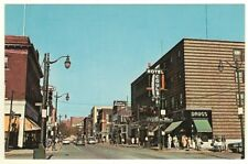 ON Durham Street Sudbury Looking North Ontario 1950s Era