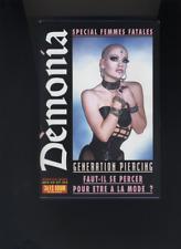 (214A) SM DEMONIA N°29 mars 1994 Piercing Spécial femmes fatales