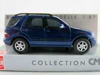 Busch 48535 Mercedes-Benz M-Klasse (2001-2005) in blaumetallic 1:87/H0 NEU/OVP