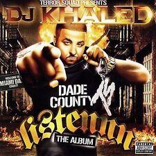 CD ~ DJ Khaled Listennn the Album [PA] - New