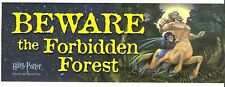 + BEWARE The FORBIDDEN FOREST 3x9 Door Mirror RV BUMPER STICKER Window Locker