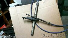 BLUE 17 RACK' STEERING CABLE Measured End to End w/helm parts, DETMAR