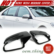 For Mercedes Benz W204 LCI C204 W212 C207 W117 W218 MIRROR COVER NEW 1 PAIR