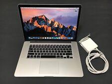 2013 Apple Macbook Pro 15 - Intel Core i7 @ 2.3 GHz - 16GB - 512GB SSD - NVIDIA