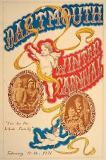 Original Dartmouth Winter Carnival Poster 1971
