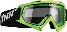 Thor Enemy Youth Goggle Flo-Green MX Motocross Off-Road Enduro Quad MTB SKI
